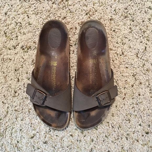 e7ad657486b Birkenstock Shoes - Birkenstock One-strap (Madrid) in Mocha